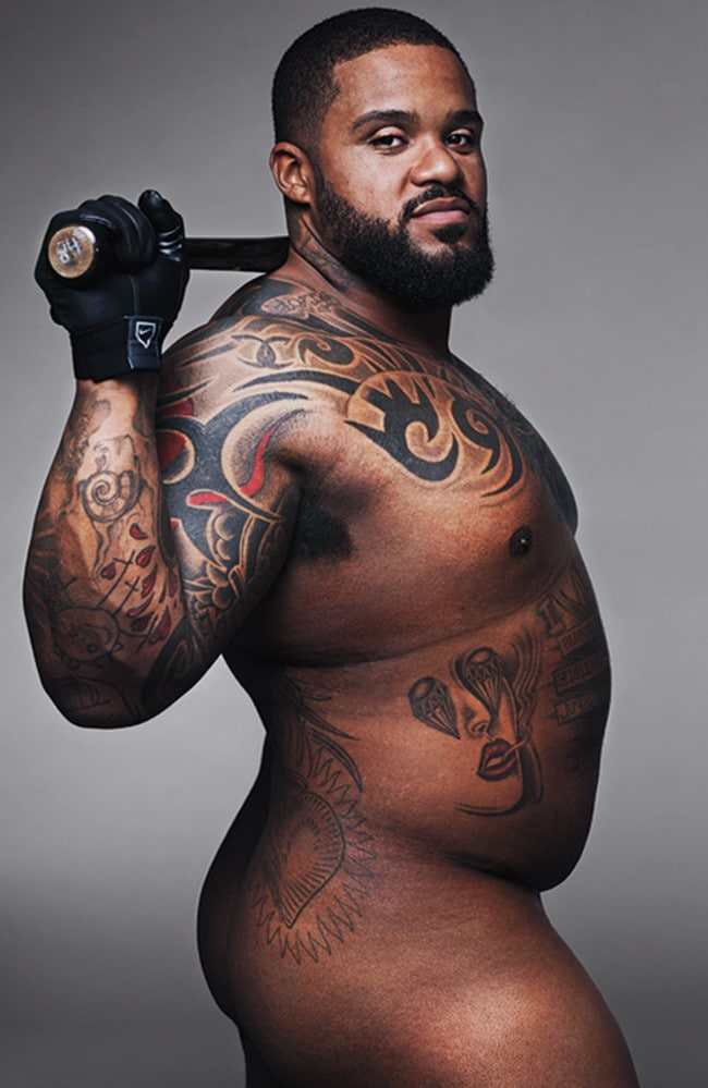 Prince Fielder is a whole lot o'man. Picture: Alexei Hay