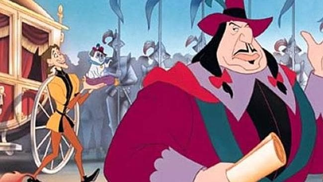 "Governor Ratcliffe in ""Pocahontas""."