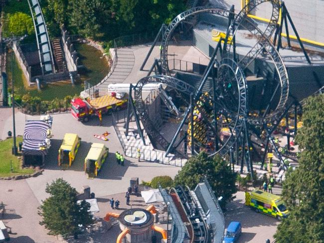 Alton Towers operators Merlin were fined £5m ($8.1m) after accepting responsibility for the Smiler rollercoaster crash that left four people with life-changing injuries.