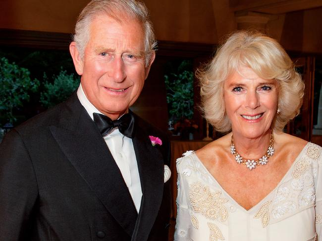 Prince Charles and Camilla attended the lunch. Picture: AFP/Clarence House/Hugo Burnand