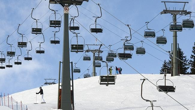 Austrian resort of Lech. Picture: supplied.
