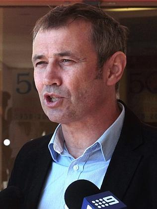 Opposition health Spokesman Roger Cook.