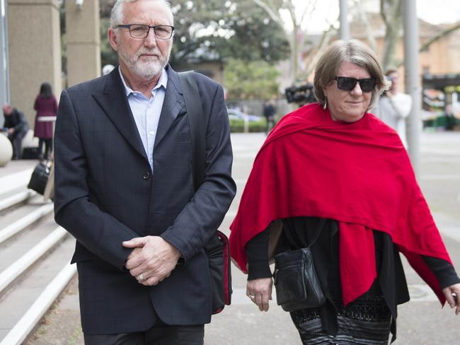 Mark and Lynne Kelsall attended court to support their adoptive son.