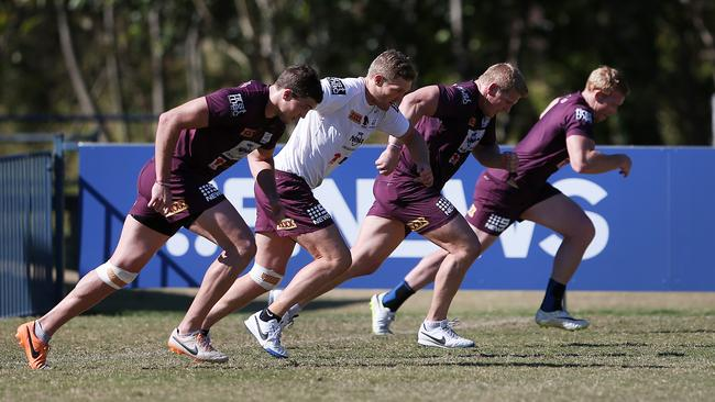 Brisbane Broncos training session.