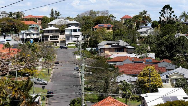 Asking prices for houses in Brisbane rose slightly over the past year. Picture: Patria Jannides.