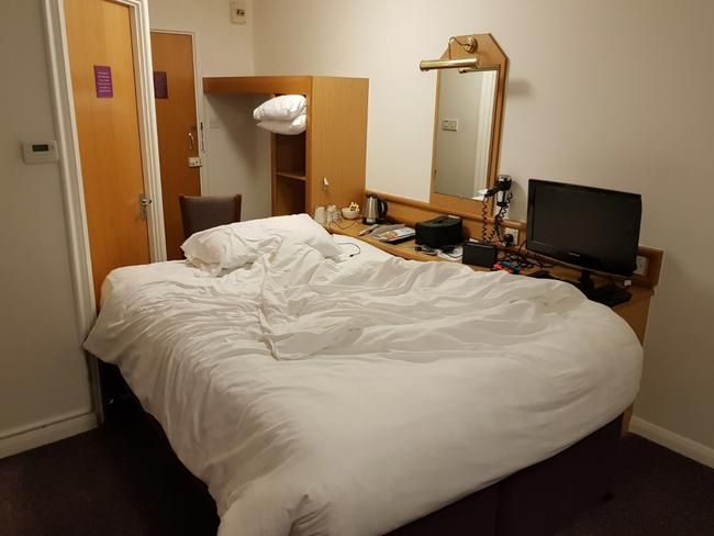 A Room Fit For An Archer: Premier Inn: Guest Rearranges Room To Have Power Socket