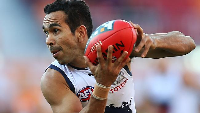 Crow forward Eddie Betts slotted five goals in the win. Picture Phil Hillyard