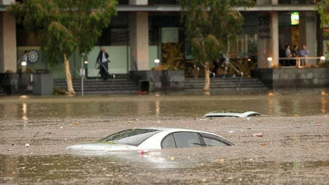Monster Hailstorm In Brisbane S Cbd Likely To Be Costliest