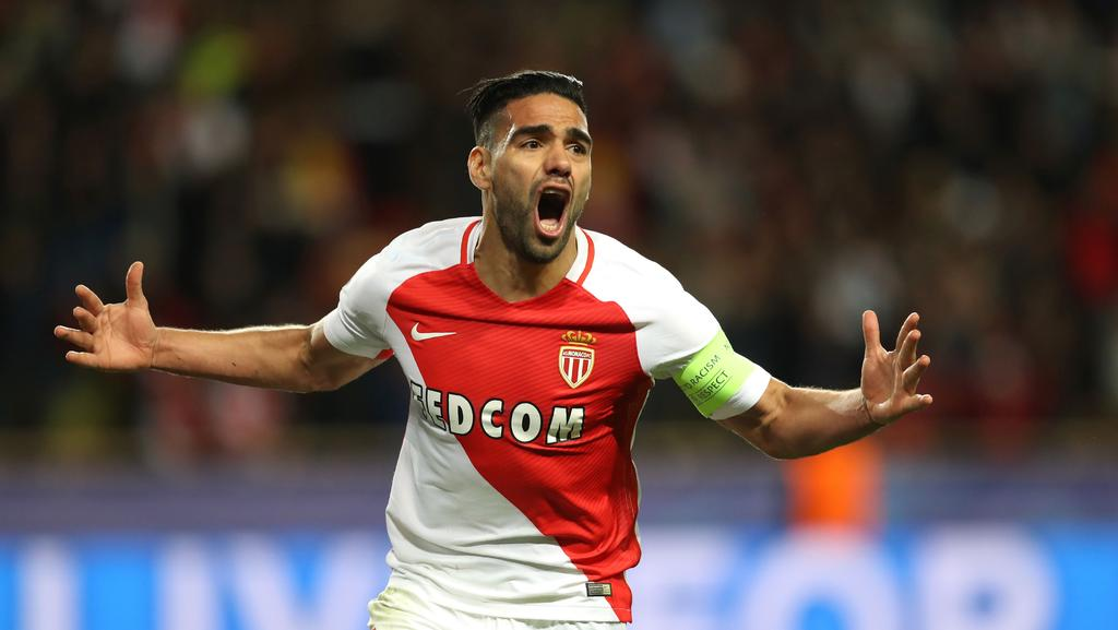 Monaco's Colombian forward Radamel Falcao.