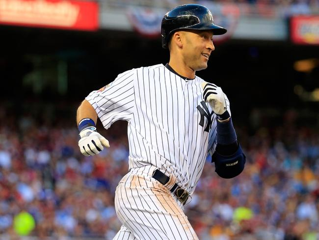 Retiring baseballer Derek Jeter came third on the list.