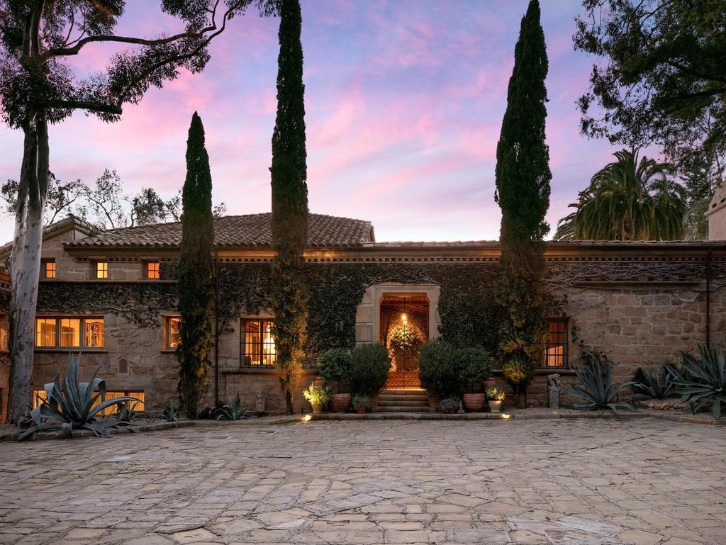Ellen Degeneres lists Santa Barbara house for sale. Picture: Jim Bartsch