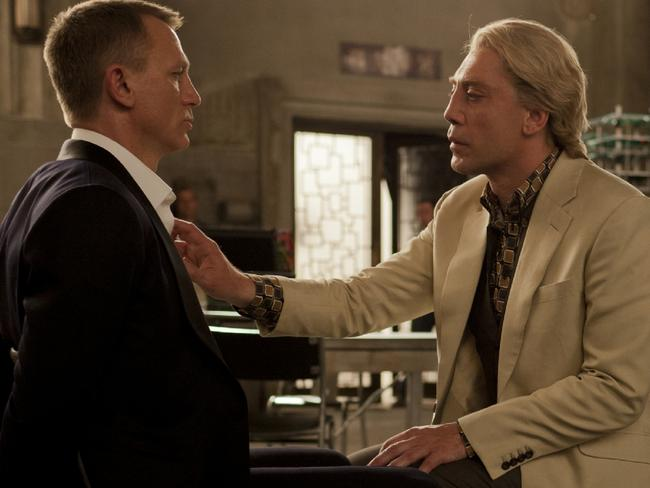 Psychopathic traits can cut both ways, making the bearer socially fearless, bold in business and morally bankrupt. Pictured, Daniel Craig and Javier Bardem in Skyfall.