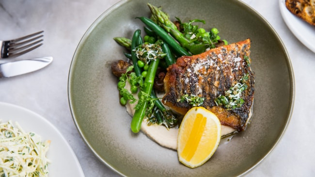 this barramundi recipe is perfect for a light summer dinner