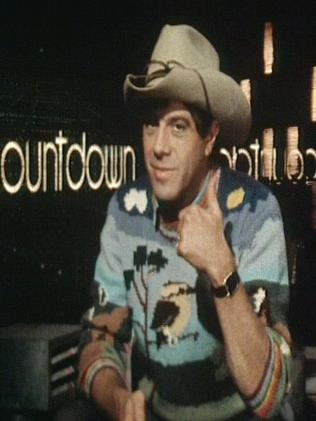Molly Meldrum on Countdown in 1984.