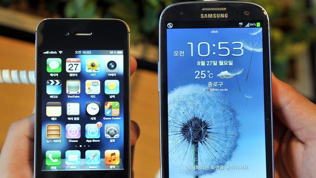 DODGY apps are the weakest link in mobile phone security, no matter how new your handset is. Picture: AFP.