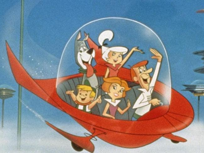 The Jetsons lived a futuristic lifestyle.