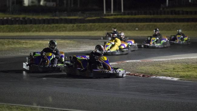 The Daily Telegraph Kart Grand Prix was fast and furious at Eastern Creek Karts on Wednesday night