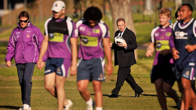 Ron Gauci when it was announced he was the new Melbourne Storm CEO. Picture: Colleen Petch