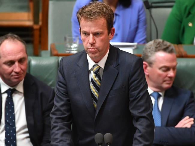 Dan Tehan has urged Australian businesses to take action. Picture: AAP