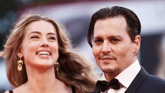 Amber Heard and Johnny Depp split earlier this year.