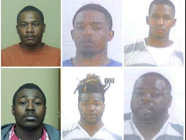 Six of the men among 17 gangbangers charged during Jessica Chamber's investigation.