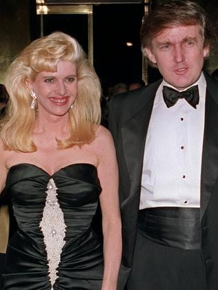 Ivana Trump was Donald Trump's first wife. Picture: AFP