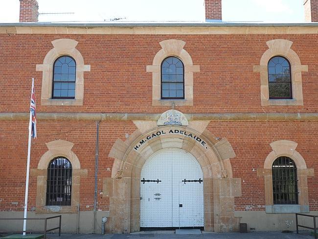 Adelaide Gaol at Thebarton.