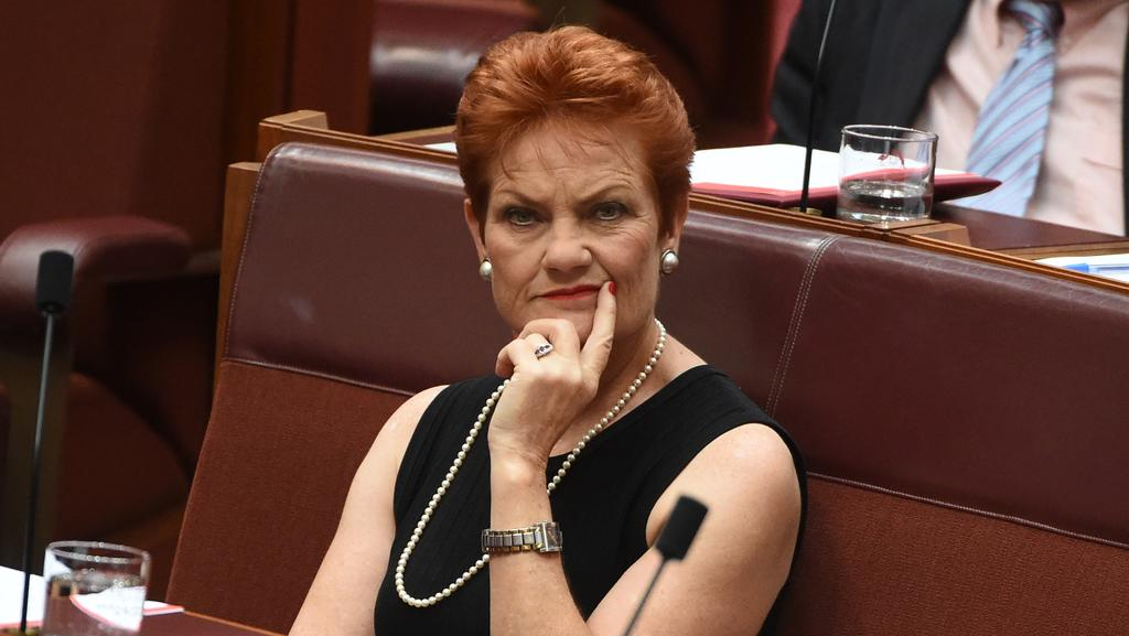 One Nation leader Pauline Hanson has expressed anger at WA senator Rod Culleton splitting from the party line on the backpacker tax. Picture: Mick Tsikas.