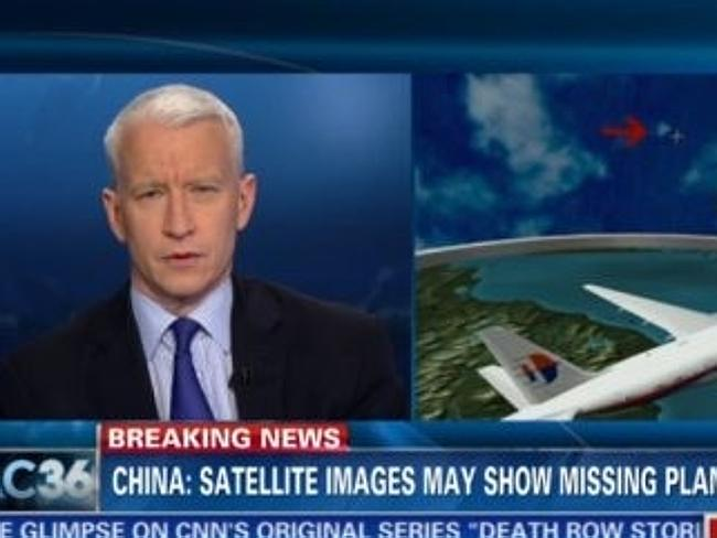 Ratings boost ... While it is certainly not the way he would have wanted to lift his ratings, people have been tuning in to Anderson Cooper's show on CNN since MH370 went missing.