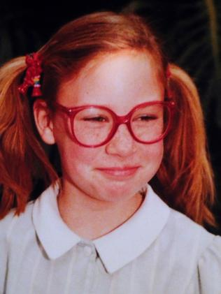 Australian woman Justine Damond as a young girl. Picture: Nathan Edwards