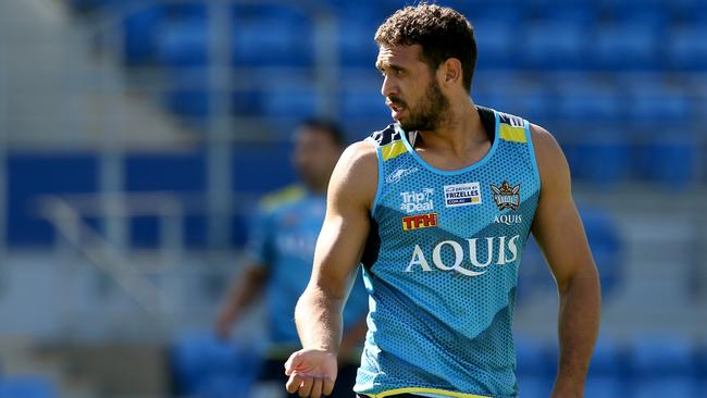 Tyronne Roberts-Davis will debut for the Titans. Picture: David Clark