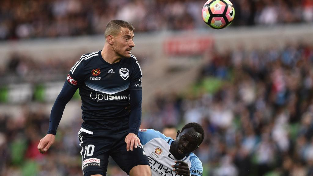 James Troisi will face Melbourne City for the first time since snubbing them to re-sign with Victory.