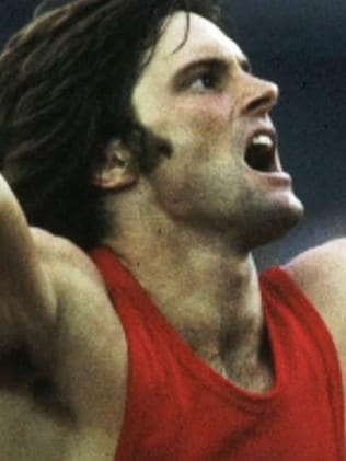 Deserves all the respect ... Bruce Jenner as an Olympian. Picture: ABC