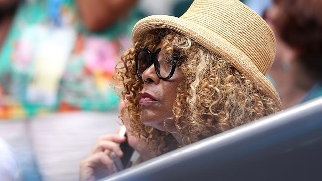 Serena's mother, Oracene Price; She of the hallowed roast chicken with rice and gravy.