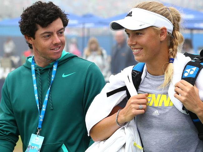 Rory McIlroy and Caroline Wozniacki ended their engagement only days after wedding invitations were issued. Picture: Jan Kruger