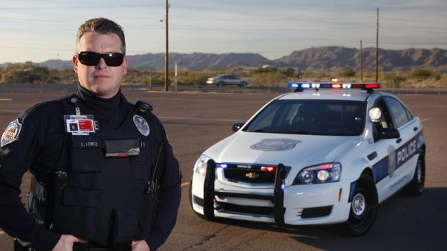 Holden began exporting the Caprice limousine as a US police car in 2011. Picture: Supplied.