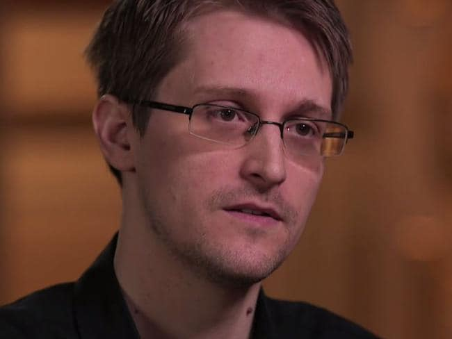 Edward Snowden leaked classified information from the NSA. Picture: HBO