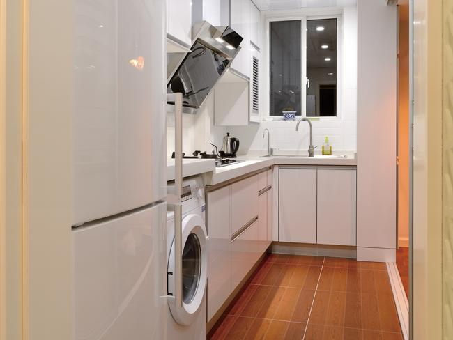 With Small Living Spaces, Washing Machines Are Often Placed In The Kitchen. Part 34