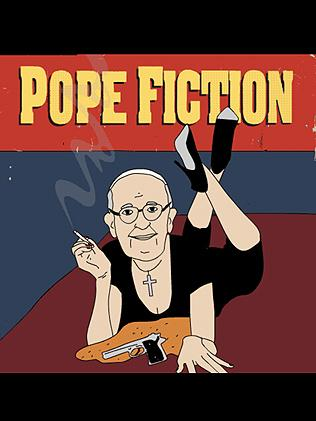 Pope Fiction. Picture: @GaryLees23