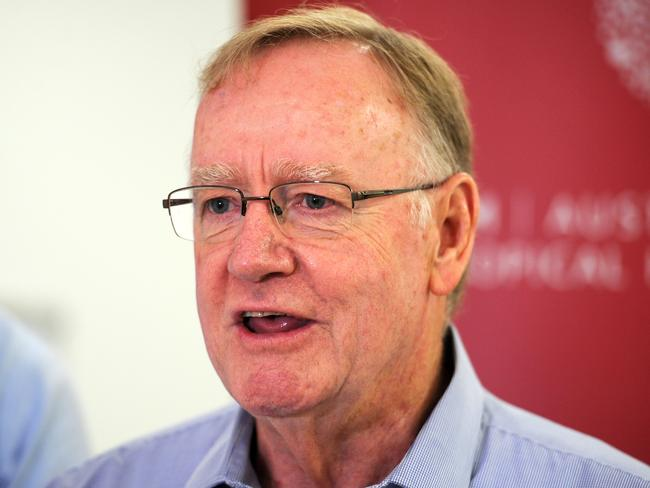 "Senator Ian MacDonald said the description of refugees was ""nicely put"". Picture: News Corp"