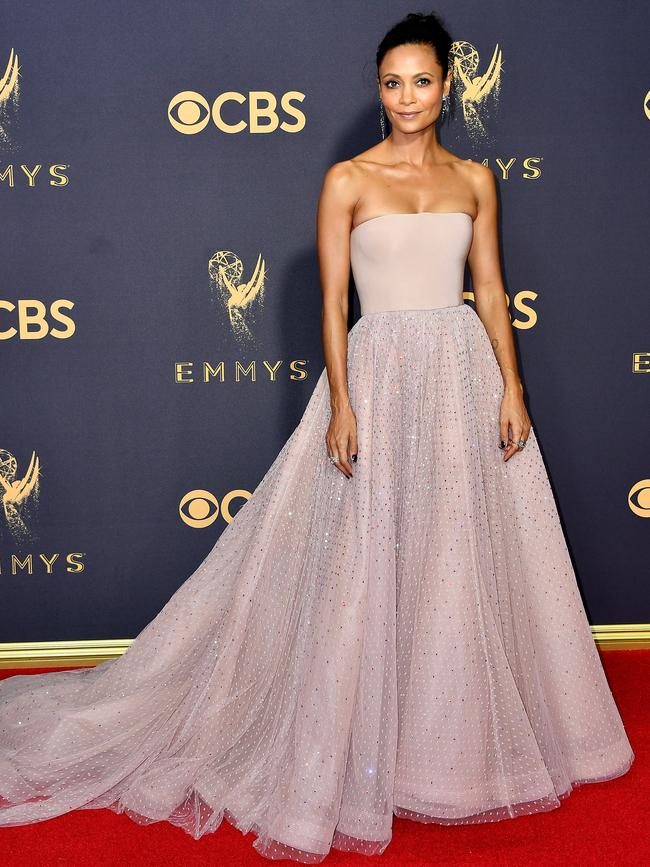 Thandie Newton attends the 69th Annual Primetime Emmy Awards at Microsoft Theater on September 17, 2017 in Los Angeles. Picture: Getty