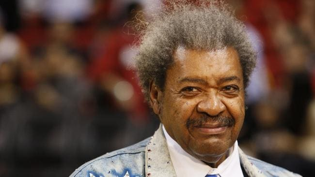 Boxing promoter Don King is considered an eccentric character, but many don't realise that before he was famous, he killed two men. Picture: AP