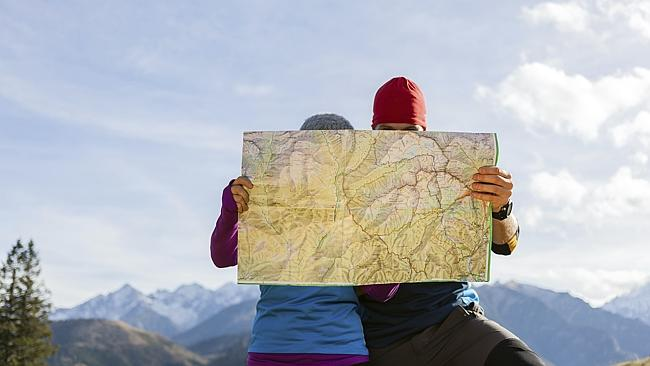 Paper maps are now a thing of the past. Photo: Thinkstock
