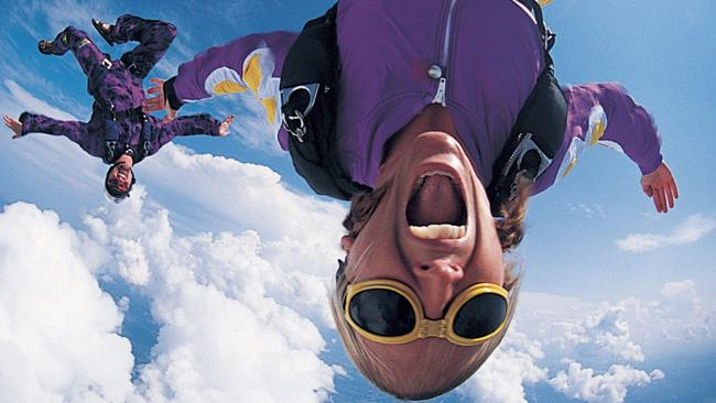 Why would I jump out of a perfectly good plane? Picture: Thinkstock.