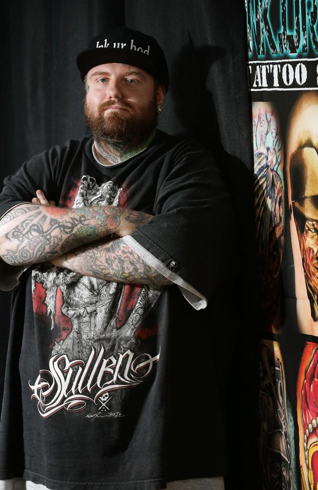 Cairns tattoo artist terence tait hopes to make a mark for for How to email a tattoo artist