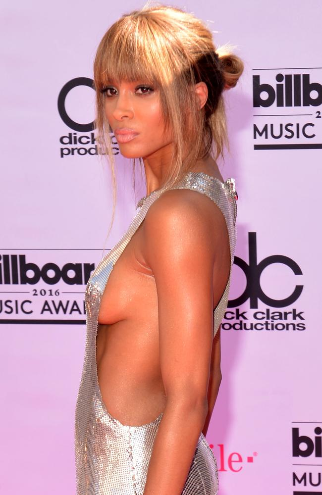 Ciara on the pink carpet. Picture: Bryan Haraway