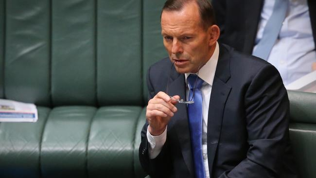 Delivery ... Tony Abbott hails the government's achievements in 2014. Picture: Ray Strange/News Corp.