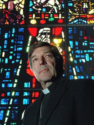 George Pell in 1996 as Melbourne's new Archbishop.
