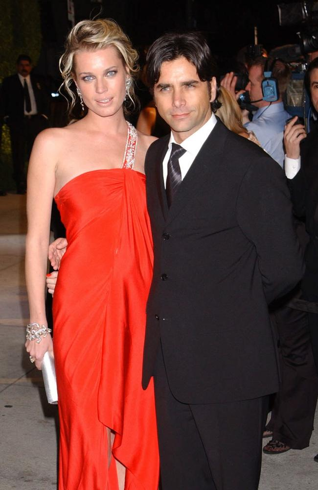 Rebecca Romijn and John Stamos in 2004. Picture: Supplied