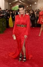 """Kris Jenner attends the Met Gala 2015 """"China: Through The Looking Glass"""". Picture: Getty"""